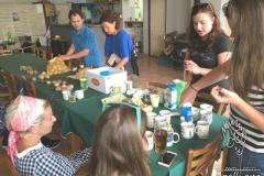 Making Hungarian Pancake
