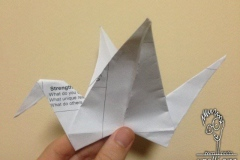 Crane From my Origami Workshop